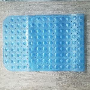 🔴Blue suction bath mat. One size.